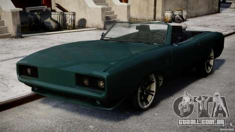New Dukes para GTA 4 vista direita