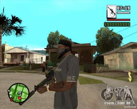 HQ M4A1 - DMG MK11 para GTA San Andreas segunda tela