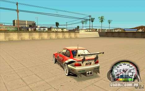 New Speedometer no transmissions para GTA San Andreas