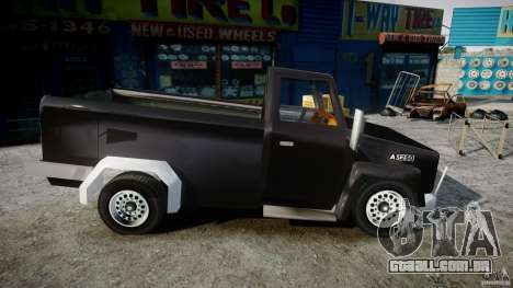 Desoto Ad250 4x4 para GTA 4 vista de volta