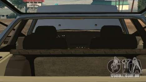 VAZ 2108 para GTA San Andreas vista superior