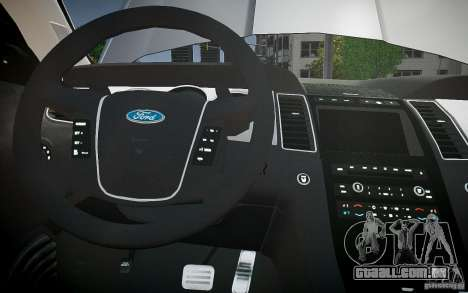 Ford Taurus SHO 2010 para GTA 4 motor