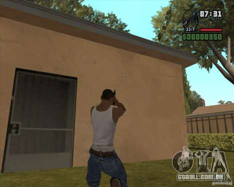 Black Chrome Eagle para GTA San Andreas segunda tela