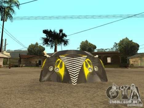 Thunderbold SlapJack para GTA San Andreas vista traseira