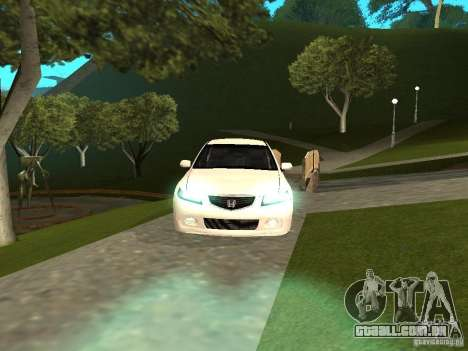 Honda Accord Type S 2003 para GTA San Andreas vista direita