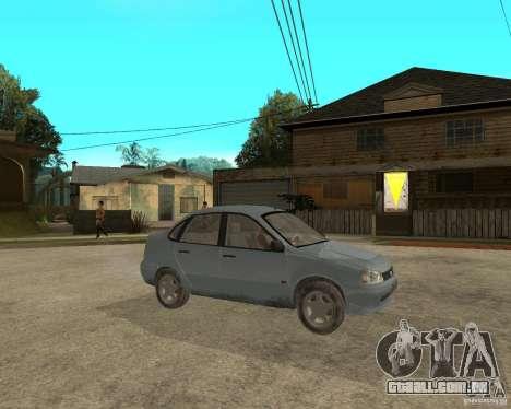 Kalina de 1118 VAZ para GTA San Andreas vista direita