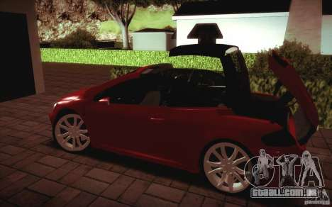 Peugeot 307CC BMS Edition para portáteis para GTA San Andreas vista traseira