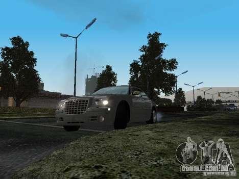 Chrysler 300C HEMI 5.7 2009 para GTA San Andreas vista traseira