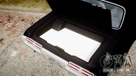 Pontiac GTO Judge para GTA 4 vista lateral