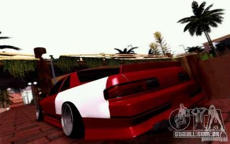 Nissan S13 Onevia para GTA San Andreas esquerda vista