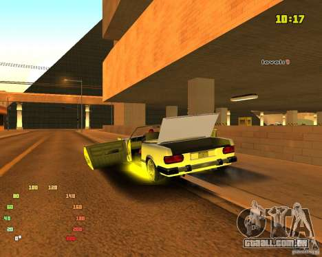 Extreme Car Mod SA:MP version para GTA San Andreas quinto tela