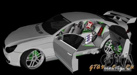 Mercedes-Benz CLS500 The GreenFairy TUNING para GTA San Andreas traseira esquerda vista
