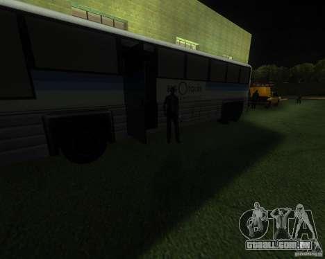 Uma movimentada estação de trem em San Fierro para GTA San Andreas segunda tela