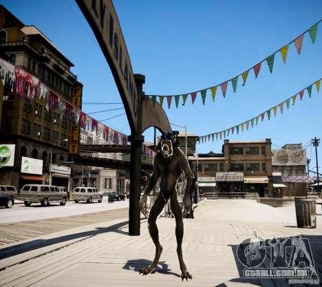 Werewolf from Skyrim para GTA 4 segundo screenshot