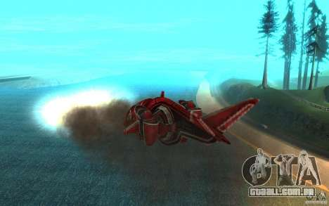 MOSKIT air Command and Conquer 3 para GTA San Andreas vista interior