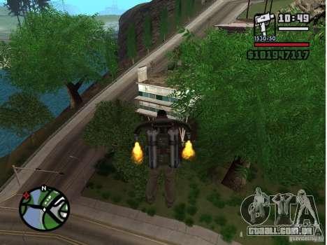 Project Oblivion 2007 para GTA San Andreas segunda tela
