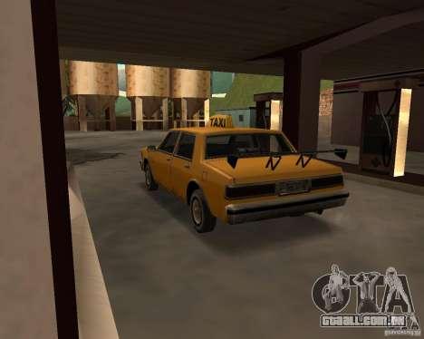 LV Taxi para GTA San Andreas vista direita