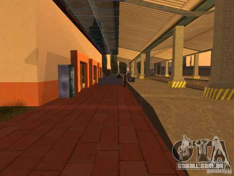 Unity Station para GTA San Andreas sétima tela