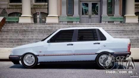Fiat Duna 1.6 SCL [Beta] para GTA 4 esquerda vista