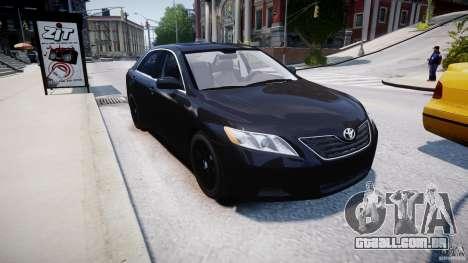 Toyota Camry 2007 (XV40) v1.0 para GTA 4 vista lateral