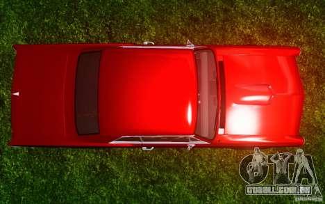 Pontiac GTO 1965 FINAL para GTA 4 vista inferior