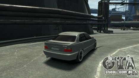 BMW 318i Light Tuning para GTA 4 vista direita