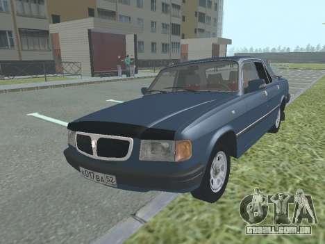 GAZ 3110 Volga v 1.0 para GTA San Andreas