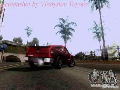 Chevrolet Cheyenne Single Cab para vista lateral GTA San Andreas