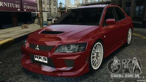 Mitsubishi Lancer Evolution 8 para GTA 4