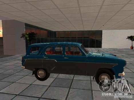 Moskvitch 423 para GTA San Andreas esquerda vista