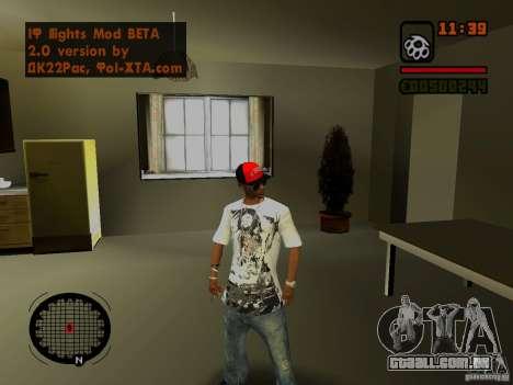 GTA IV Animation in San Andreas para GTA San Andreas por diante tela