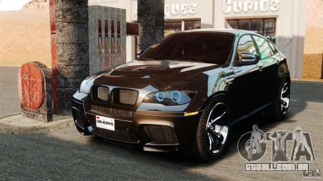 BMW X6 M 2010 para GTA 4