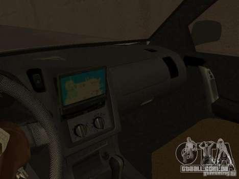 Opel Combo 2005 para GTA San Andreas vista traseira