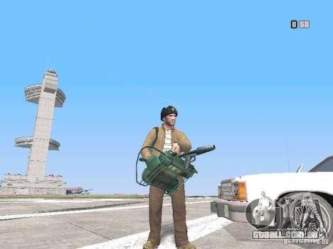 HQ Weapons pack V2.0 para GTA San Andreas sexta tela