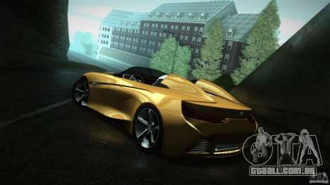 BMW Vision Connected Drive Concept para GTA San Andreas traseira esquerda vista
