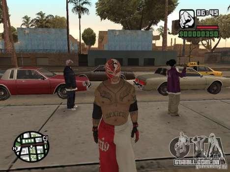 Rey Mysterio para GTA San Andreas segunda tela