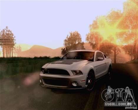 Optix ENBSeries Anamorphic Flare Edition para GTA San Andreas quinto tela