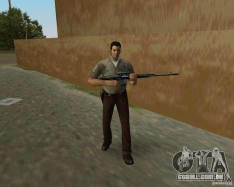 Armas de Pak de STALKER para GTA Vice City sétima tela