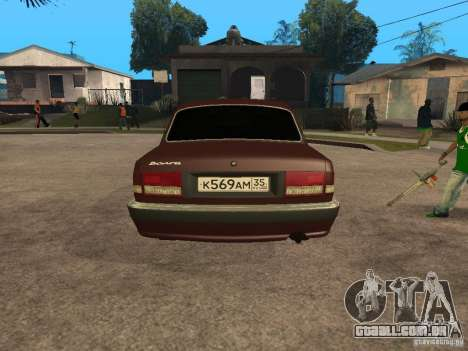 GÁS 311055 para GTA San Andreas vista traseira