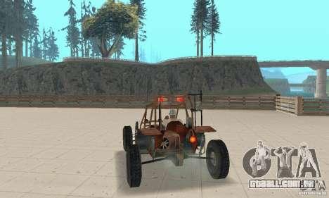 Half-Life Buggy para GTA San Andreas esquerda vista