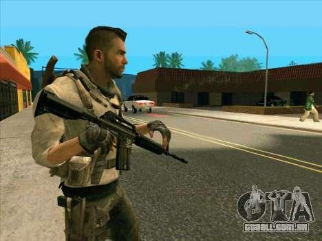 4 um Mctavish para GTA San Andreas segunda tela