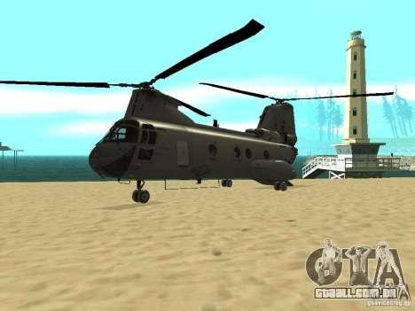 Leviatã de helicóptero para GTA San Andreas