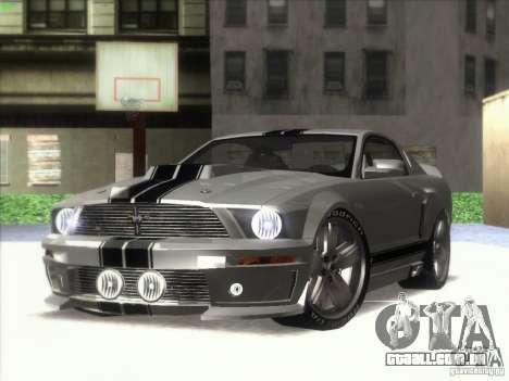 Ford Mustang Eleanor Prototype para GTA San Andreas traseira esquerda vista