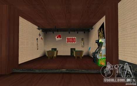 Um novo bar em Gantone v. 2 para GTA San Andreas terceira tela