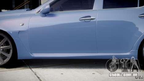 Lexus IS F para GTA 4 rodas