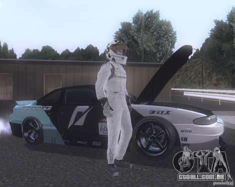 Matt Powers NFS Team para GTA San Andreas terceira tela