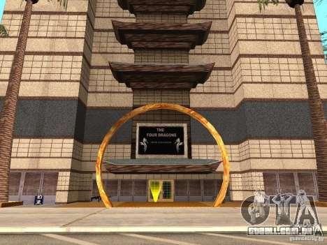 Um novo tipo de Casino 4 Dragão para GTA San Andreas segunda tela
