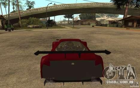 Seat Cupra GT para GTA San Andreas traseira esquerda vista