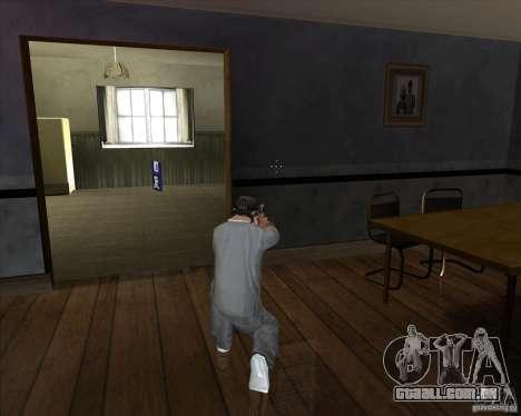Pistola com silenciador para GTA San Andreas terceira tela