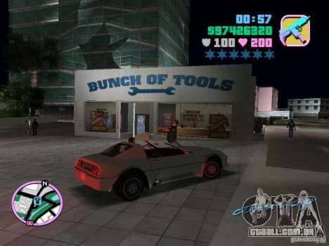 Phobos VT de Gta Liberty City Stories para GTA Vice City vista traseira